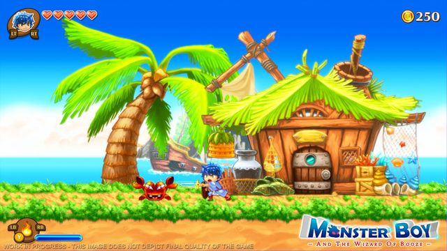 Photo of Monster Boy and the Cursed Kingdom debut trailer