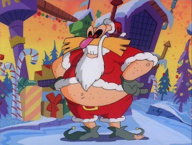 Photo of Hear Robotnik sing a 'Sonic the Hedgehog' Christmas carol