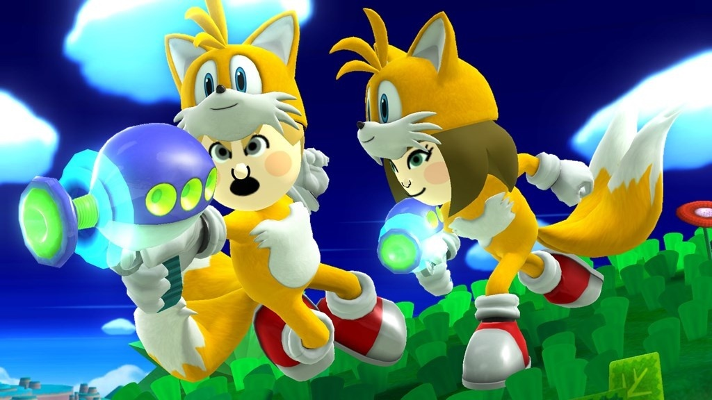 Photo of Knuckles and Tails Mii costumes coming to Super Smash Bros