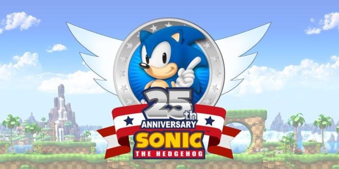 Sonic 25th anniversary logo