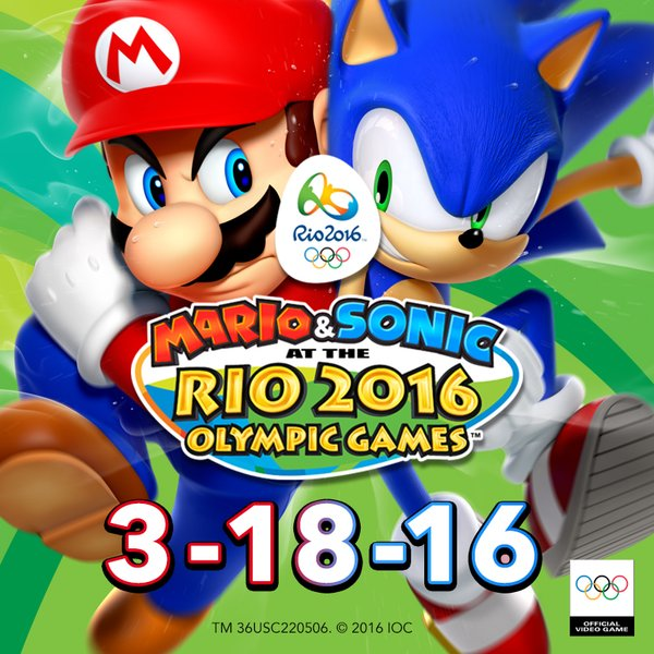 Photo of Mario & Sonic at the Rio 2016 Olympic Games drops March 18 on 3DS