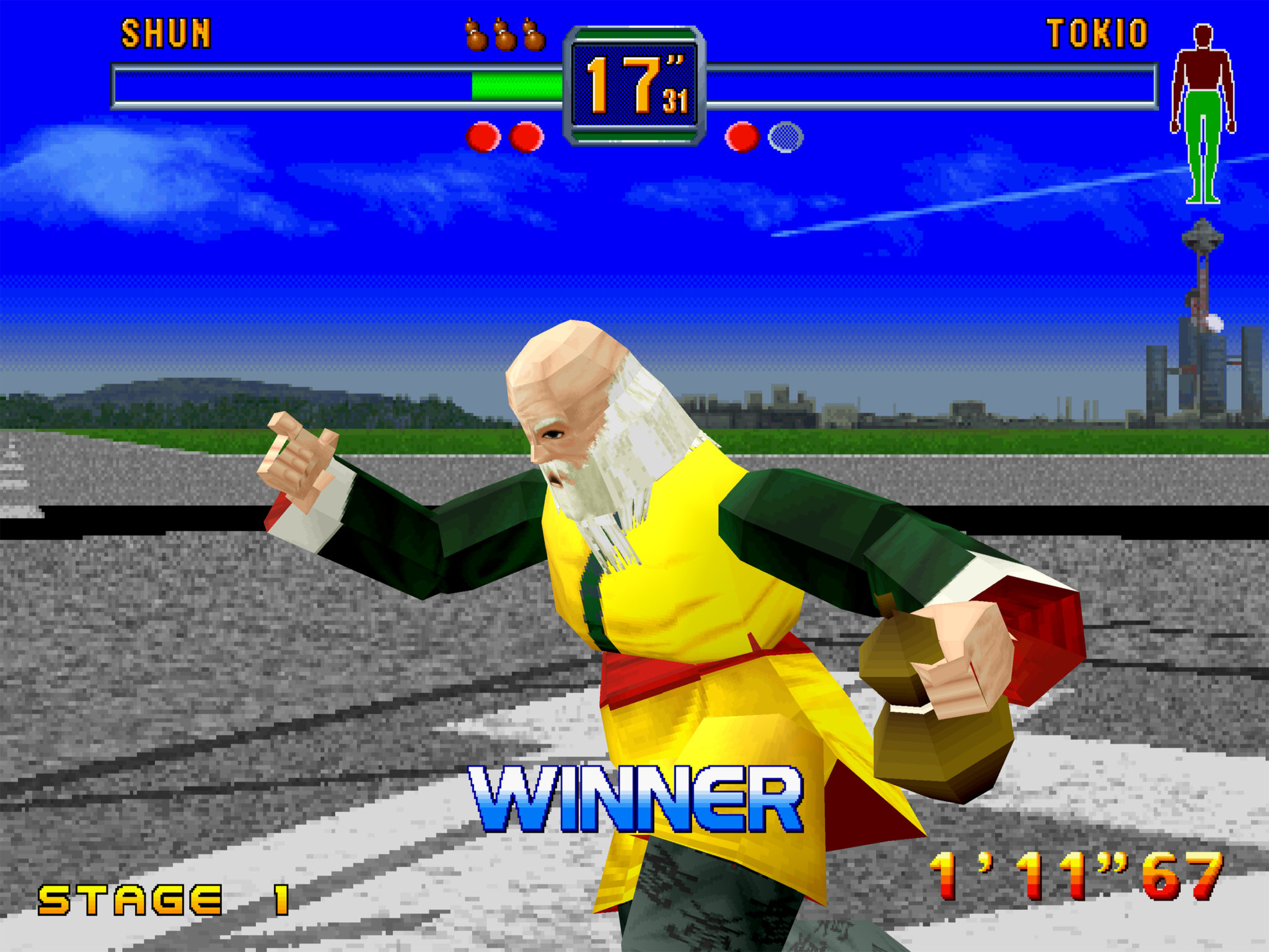 Check out these amazing screenshots of SEGA Saturn games in