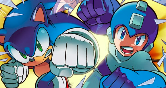 Photo of Sonic / Mega Man: Worlds Collide: The Complete Epic is now available