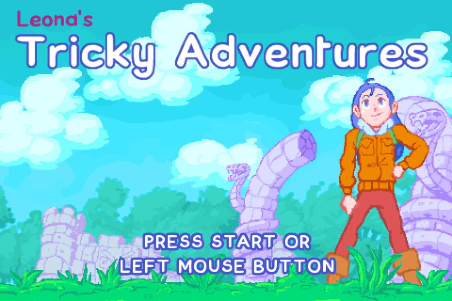Photo of Leona's Tricky Adventures now available to purchase on Dreamcast