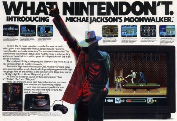 Photo of [Update] Did Michael Jackson join forces with SEGA because he was mad at Nintendo?