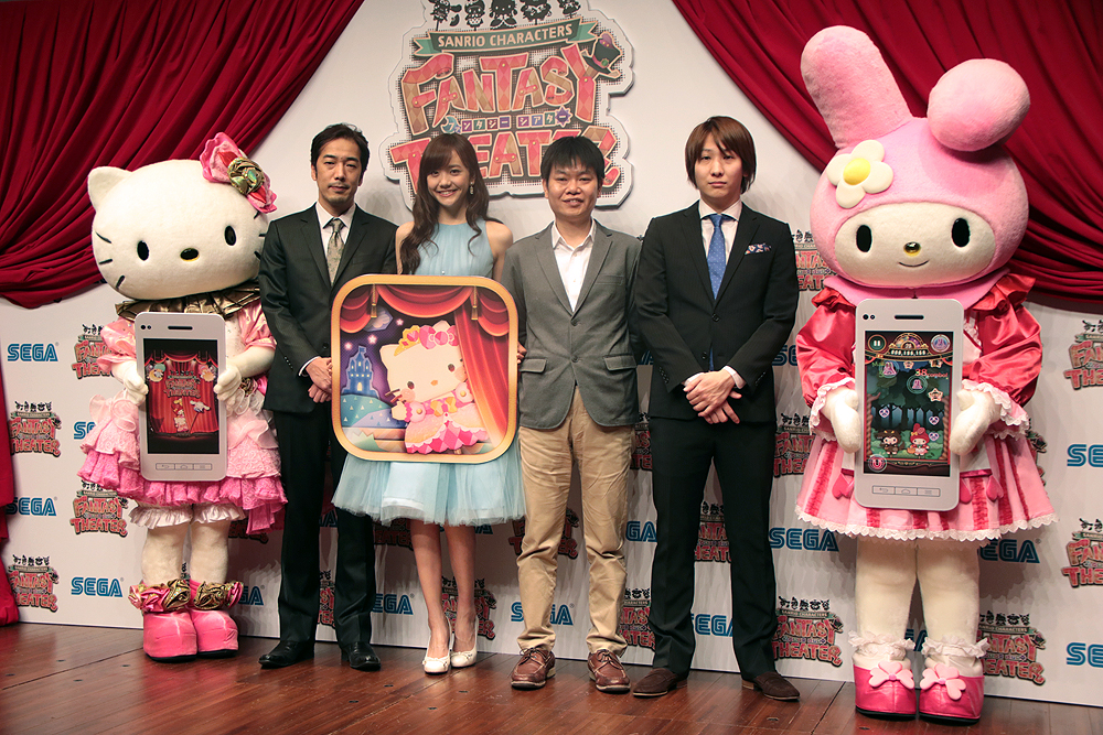 "Photo of SEGA Considering to Bring ""WITH Sanrio"" proyect overseas"