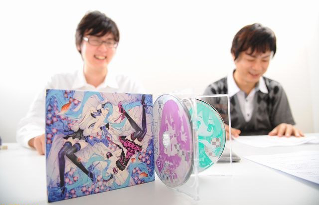 Yuzo Koshiro and Sasakure UK on 7th Dragon OST