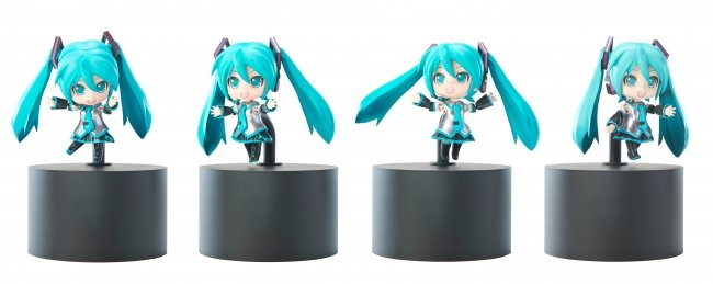 Photo of Dancing Miku Nendoroid Robot to be unveiled at Winter Wonfes 2016