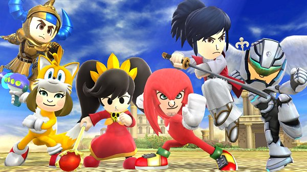 Photo of The Tails and Knuckles Mii costumes will be available February 3rd in North America