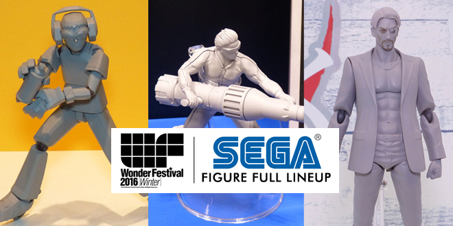 Photo of Complete WONFES 2016 WINTER – SEGA Figure Lineup