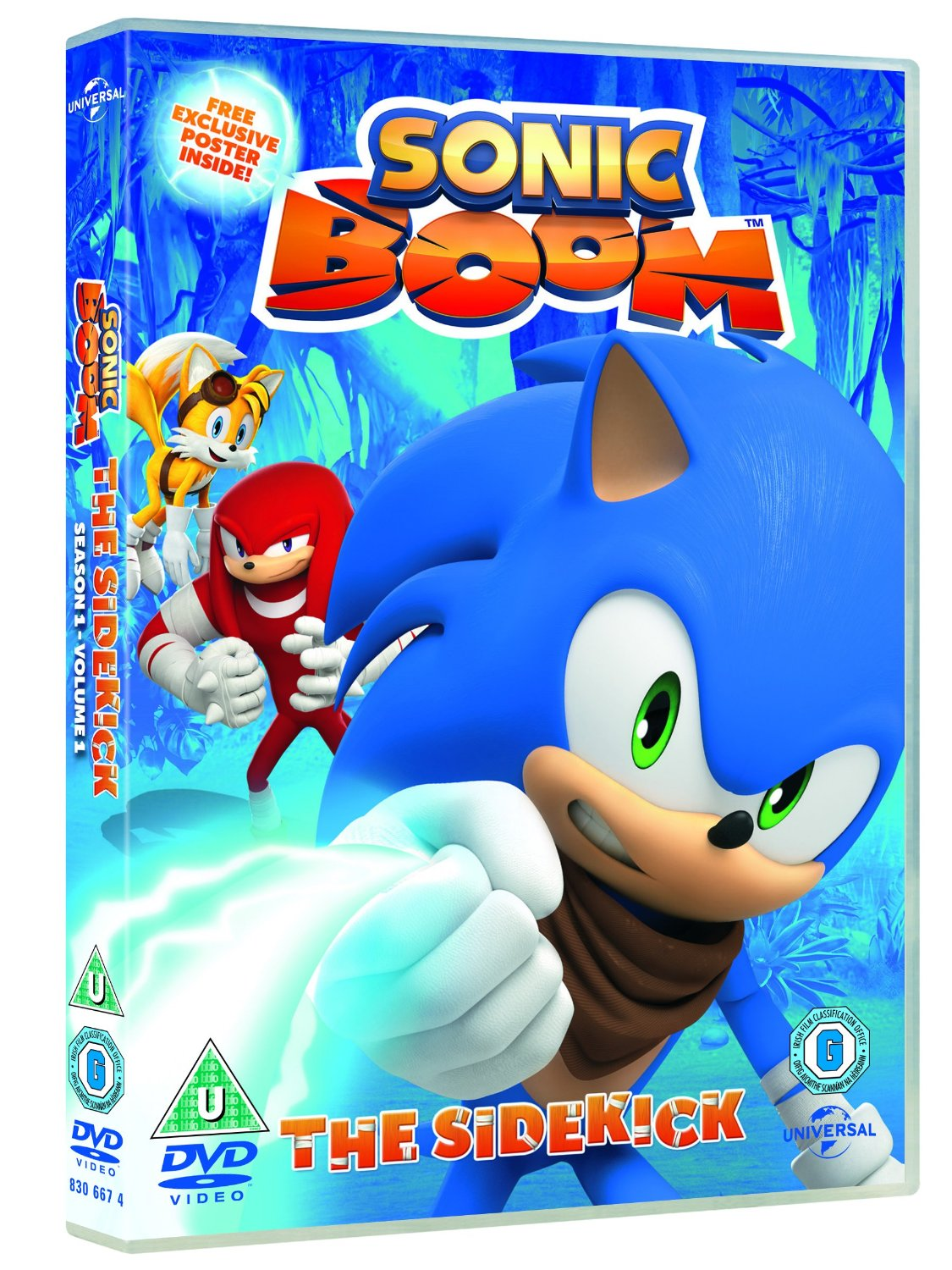 Sonic Boom: The Sidekick now available on DVD, iTunes in UK