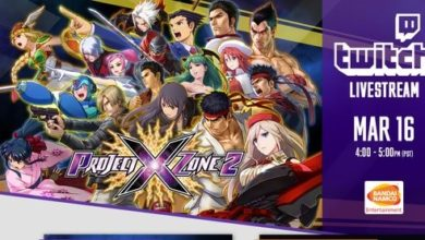 Photo of Bandai Namco & SEGA will be streaming Project x Zone 2 March 16