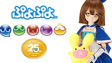 Photo of Volks Inc. unveils more Puyo Puyo 25th Arle Nadja Dollfie pics