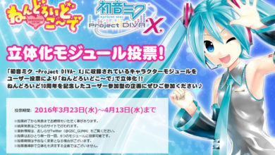 Photo of Good Smile Company wants to know which Project Diva X nendo figures you want to be produced!