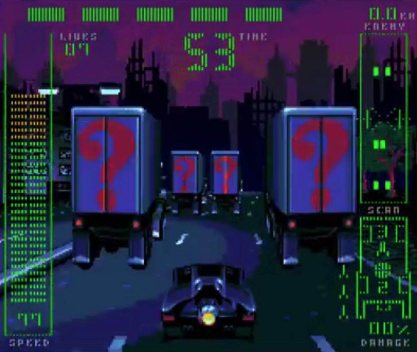 [7 Jogos Indispensáveis] - SEGA CD Retro_review_the_adventures_of_batman_and_robin_sega_CD_batmobile