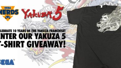 Photo of See how you can win a Yakuza 5 T-shirt!