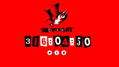 Photo of Persona 5's official website is counting down to May 5th