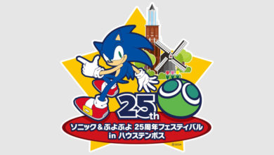 Photo of Sonic and Puyo Puyo 25th Anniversary museum exhibits will happen in Japan