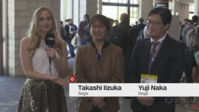Photo of Takashi Iizuka & Yuji Naka discuss their favorite memories of Sonic the Hedgehog