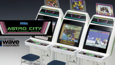 Photo of Wave starts SEGA Astro City model kit preorders!
