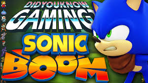"Photo of Sonic Boom is featured in a recent ""Did You Know Gaming?"" video"