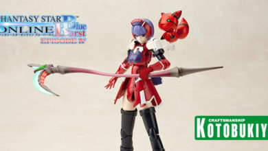 Photo of Kotobukiya is re-releasing PSO Blue Burst RACASEAL: REDRIA model kit