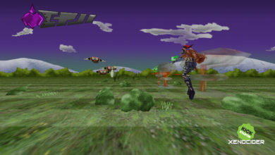 Photo of Xenocider's Kickstarter has added a Space Harrier stage to their demo