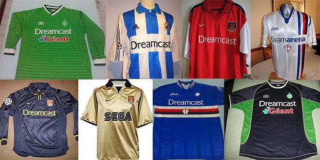 Sega Soccer teams