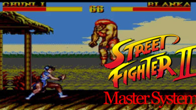 Photo of Street Fighter II for Master System made possible because of a joke