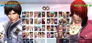 KoF Character Select