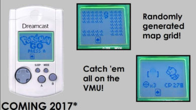 Photo of Pokémon Go releasing on Dreamcast VMU next year