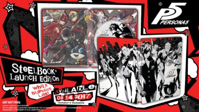 Photo of Here's the design for the Persona 5 SteelBook Launch Edition