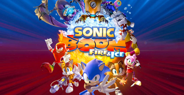 Sonic Boom: Fire & Ice Title