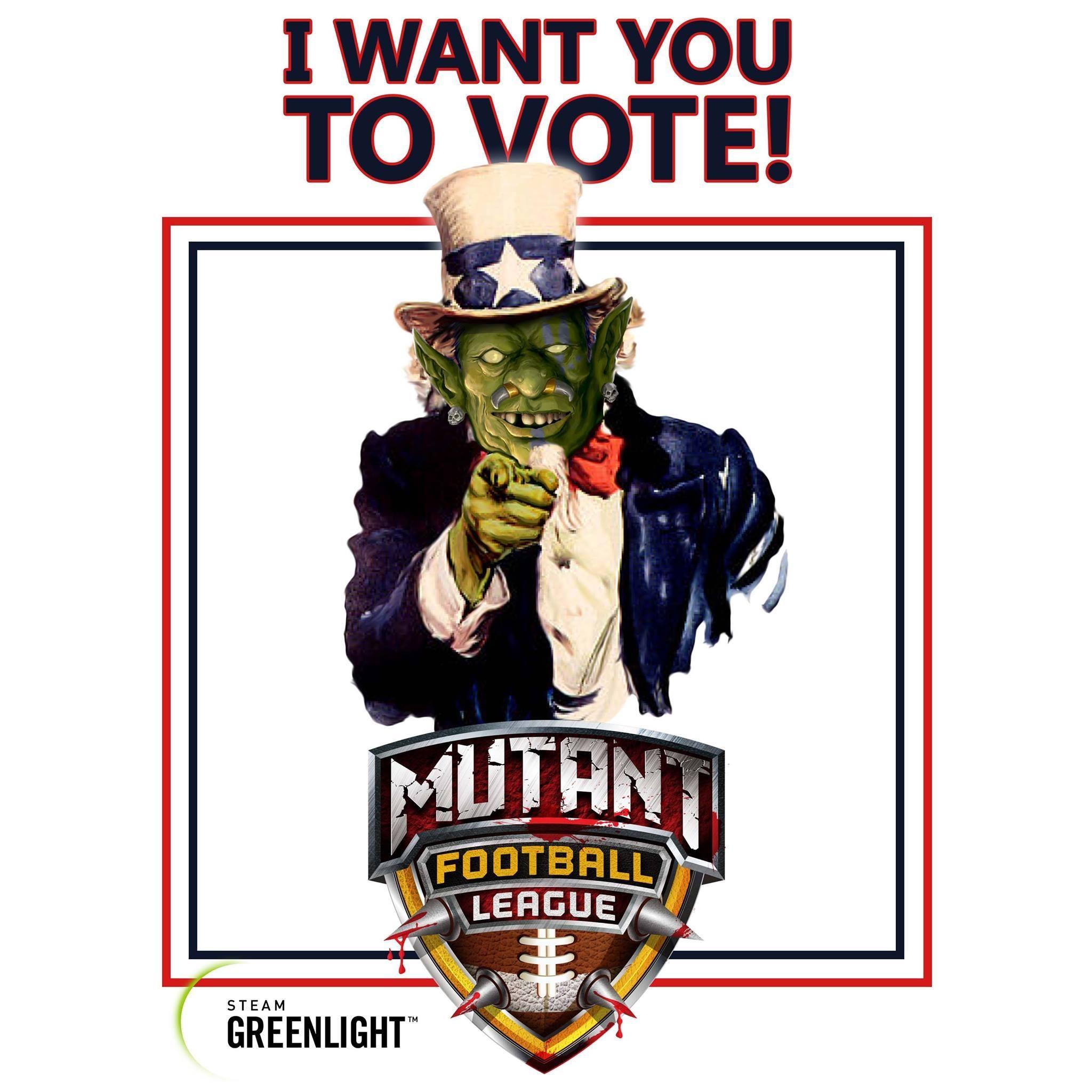 Mutant Football League Heads To Steam Greenlight New