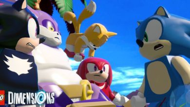 Photo of Tails, Shadow, Knuckles, and Big will appear in LEGO Dimensions