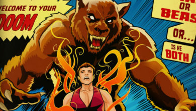 Photo of Check out this awesome Altered Beast comic book cover