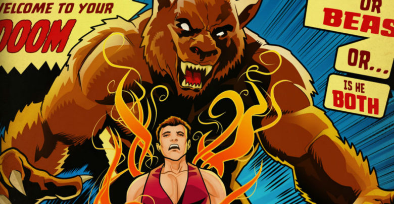 Check Out This Awesome Altered Beast Comic Book Cover