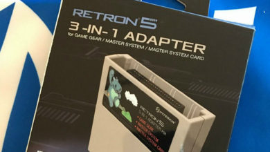 Photo of RetroN 5's Game Gear, Master System adapter now available for pre-order