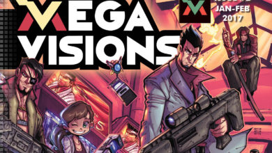 Photo of Mega Visions Issue #2 now available, features Yakuza cover