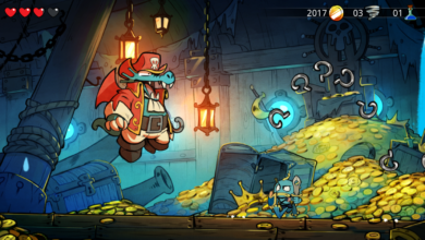 Photo of You can switch between retro and modern graphics in Wonder Boy: The Dragon's Trap