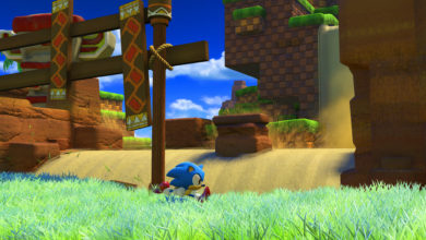 Photo of Here's new footage of Sonic dashing through Green Hill Zone in Sonic Forces