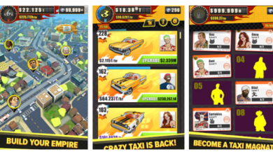 Photo of Crazy Taxi Gazillionaire available now on Android and iOS