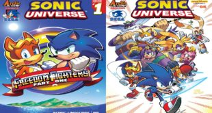 The Sonic 2 and Team Blast variant covers of Sonic Universe #95