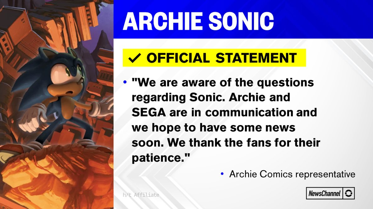 Source: Sonic News Channel