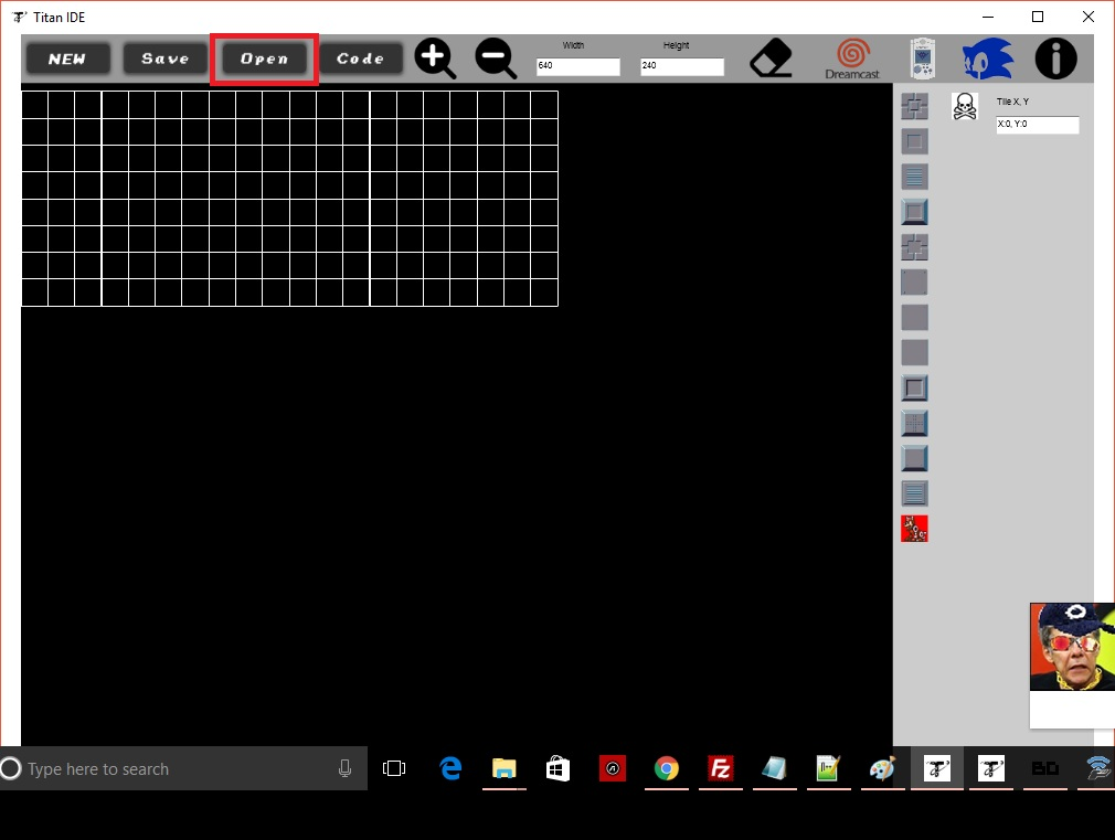 Tutorial: How to make a Dreamcast game using the Titan IDE