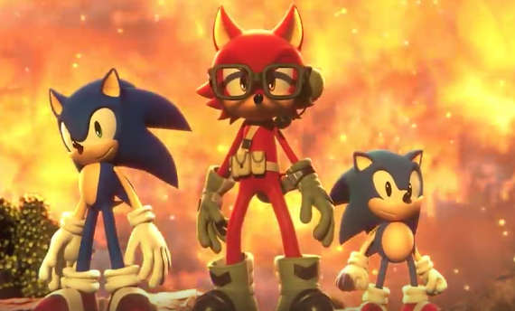 Photo of New Sonic Forces trailer showcases all-new series villain