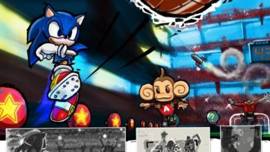 Photo of Sonic & SEGA All Stars Soccer and Brawl concept art has been dug up