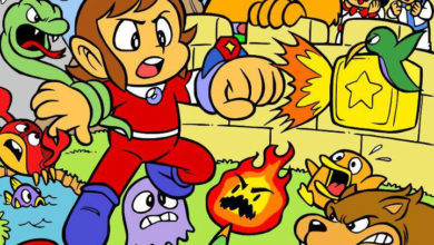 Photo of Alex Kidd in Miracle World homebrew sequel punches its way to our hearts
