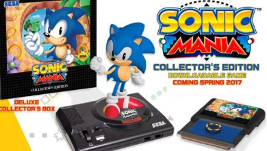 Photo of Win: Sonic Mania Collector's Edition with Mega Visions Magazine