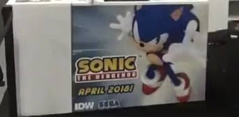Photo of IDW reveals April 2018 release for Sonic the Hedgehog comic